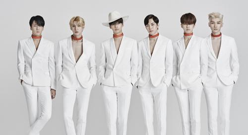 大势团体VIXX第二张正规专辑『Chained up』确定于11/30台北签名会